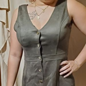 Nwt soft feel olive dress